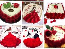 浪漫玫瑰蛋糕