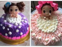 芭比儿童蛋糕(5英寸)